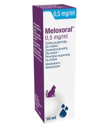 Meloxoral 0,5 mg/ml oralna suspenzija