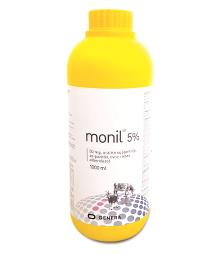 Monil® 5%, 50 mg, oralna suspenzija