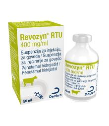 Revozyn RTU 400 mg/ml, suspenzija za injekciju, za goveda